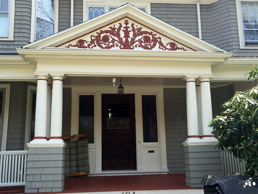 Residential exterior painting the larkin painting company for Exterior mural paint